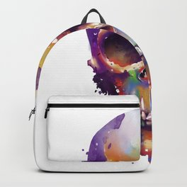colorful skull Backpack