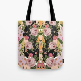 Floral Party Tote Bag
