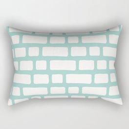 bricks (2) Rectangular Pillow