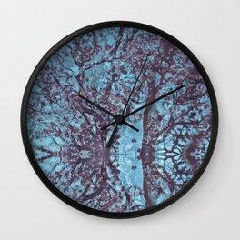 Jacaranda Wall Clock