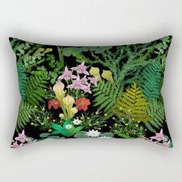 Botanical Bog Rectangular Pillow