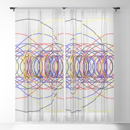 Circle Splendor 8.4 Sheer Curtain