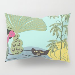 Mojo in the garden Pillow Sham