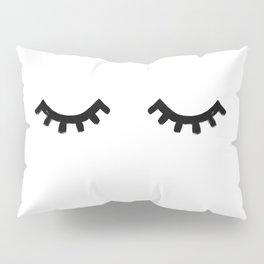 eyelashes Pillow Sham