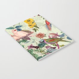 Floral and Birds VIII Notebook