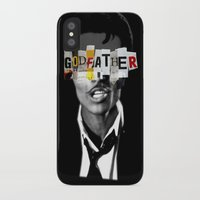 the godfather iPhone & iPod Cases featuring Godfather Mix 1 black by Marko Köppe