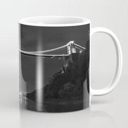 Clifton suspension bridge mono Coffee Mug