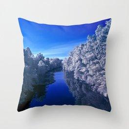 Rivanna River Throw Pillow