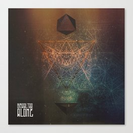 ALONE EP COVER Canvas Print