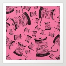 Spools of Thread Art Print