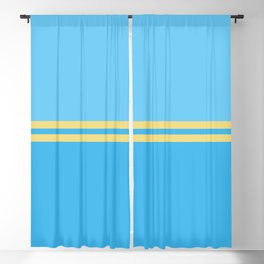 Solid&Solid: Blues Blackout Curtain