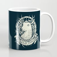 the thing Mugs featuring Wild Thing by Mike Koubou