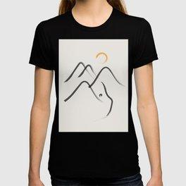 Cat Landscape 99 T-shirt