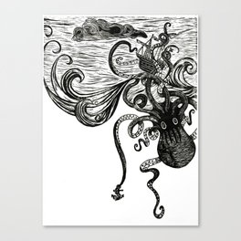 Thunders of the Upper Deep Canvas Print
