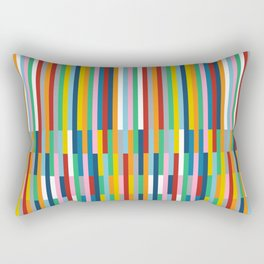 Brick Columns Rectangular Pillow