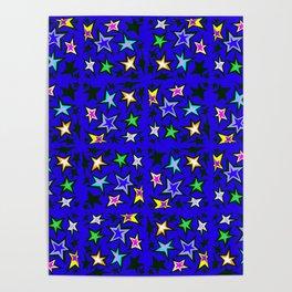 Star Shadows Royal  Poster