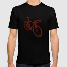Bicycle - bike - cycling Black Mens Fitted Tee MEDIUM