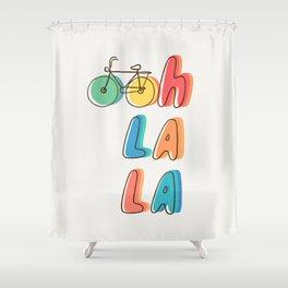 Ohh la la Shower Curtain