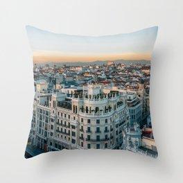 Circulo de Bellas Artes 02 Throw Pillow