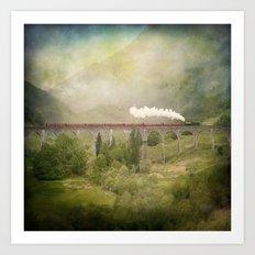 Glenfinnan Viaduct Art Print