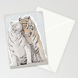 Tiger Love Stationery Cards