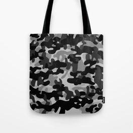 Camouflage (Gray) Tote Bag