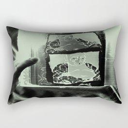 Tickling Buddha Rectangular Pillow