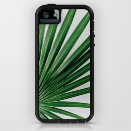 Palm Leaf Detail iPhone Case
