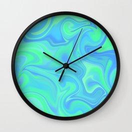 Bali Color Melt Wall Clock