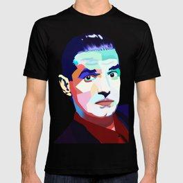 Portrait of Hans Holzel (Falco) T-shirt