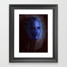 Mass Effect: Matriarch Aethyta Framed Art Print