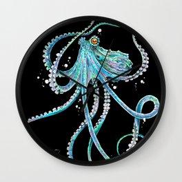 Drunk Octopus Wall Clock