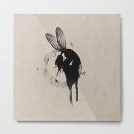 ///Dragonfly Women/// Metal Print