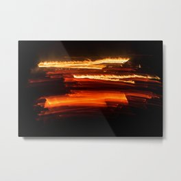 Playing with Fire 24 Metal Print