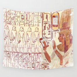 Ancient Egypt smartphones Wall Tapestry