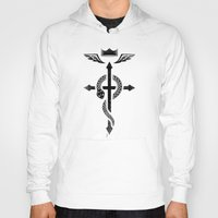 fullmetal Hoodies featuring Fullmetal Alchemist Flamel - Black by R-evolution GFX