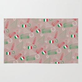 Italian pattern, bright version Rug