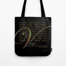 Sign Language for Virgo Tote Bag