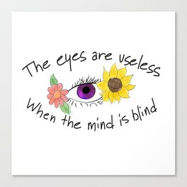 Beauty of the Opened Mind Canvas Print