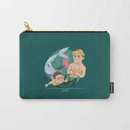 Husband Material: Mermen Carry-All Pouch