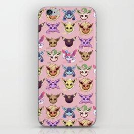 Eeveelutions Pink iPhone Skin