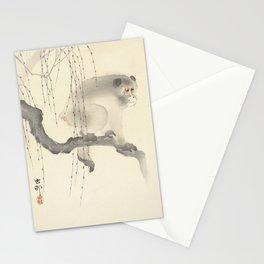 Monkey on Tree Branch Stationery Cards