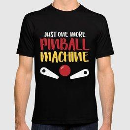 Pinball Machine Arcade Vintage Player T-shirt