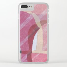 Abstract background 85 Clear iPhone Case
