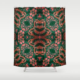 Life in Scope III Shower Curtain