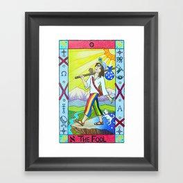The Fool - Tarot Framed Art Print