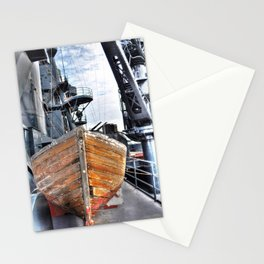 USS Lifeboat Stationery Cards