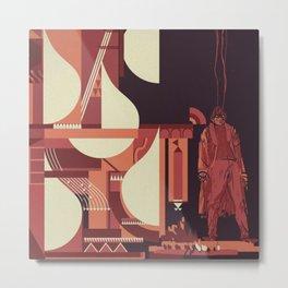 SKINWALKER Art 1 Metal Print
