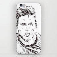 arsenal iPhone & iPod Skins featuring Giroud by ArsenalArtz