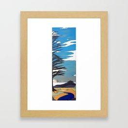 Mt. Tam  Over Creek Framed Art Print
